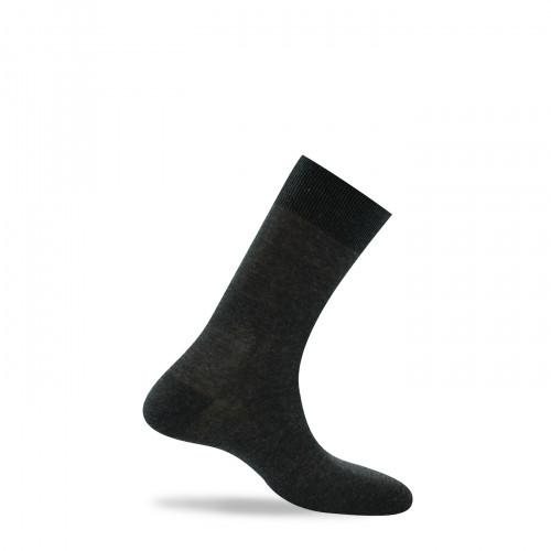 Mi-chaussettes en pur fil d'écosse