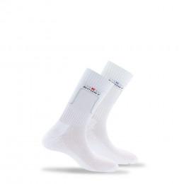 Lot de 2 paires de chaussettes sport en coton