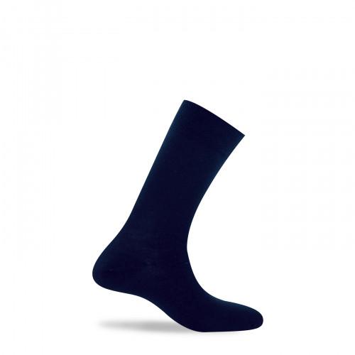 Chaussettes unies pur coton