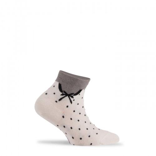 Socquettes col Claudine en coton