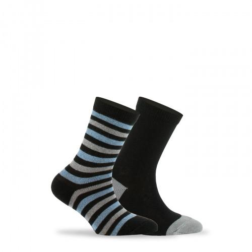 Lot de 2  paires de chaussettes  en coton